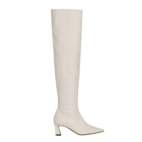 Scene Knee High Boots_Ivory